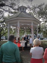 Wedding in Whitfield Square